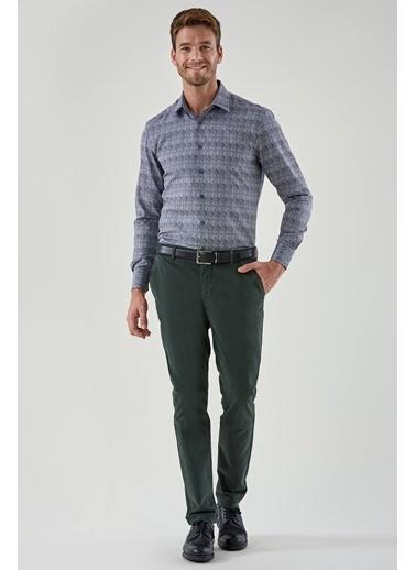 Hemington Kadife Dokulu Chino Pantolon Yeşil